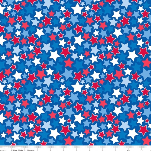 RILEY BLAKE - Patriotic Picnic - Blue