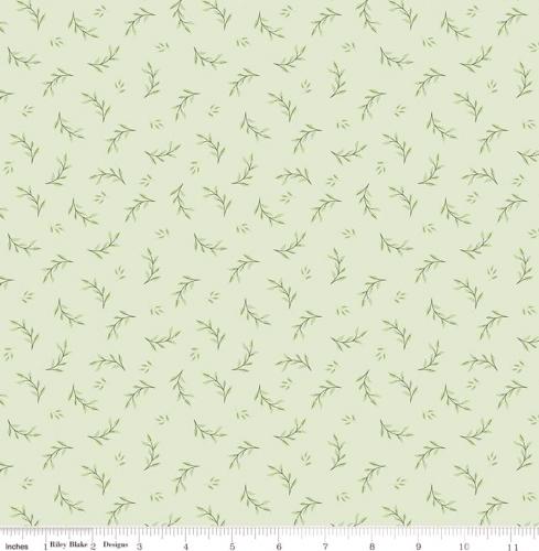 RILEY BLAKE - Bliss - Leaves Mint