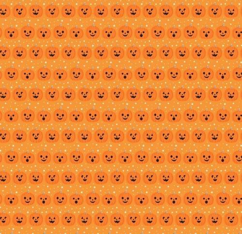 RILEY BLAKE - Fab-Boo-Lous - Pumpkin Orange