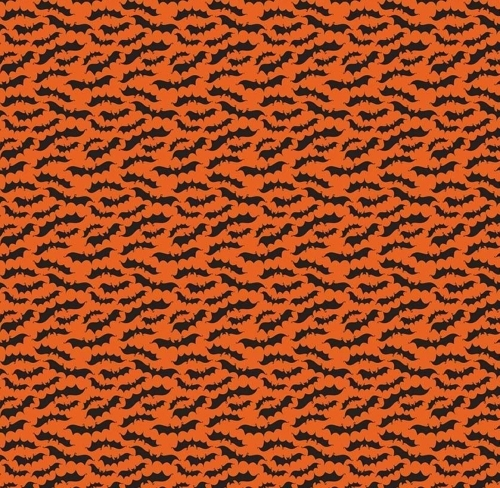 RILEY BLAKE - Fab-Boo-Lous - Bats Orange