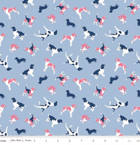 RILEY BLAKE - Fox Farm - Dogs Blue - #2690-