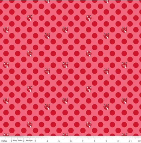 RILEY BLAKE - Fox Farm - Dots Red - #2697-