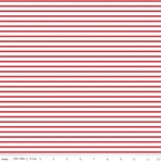 RILEY BLAKE - Fox Farm - Stripes Red - #2689A-