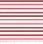 RILEY BLAKE - Fox Farm - Stripes Red - #2689A-