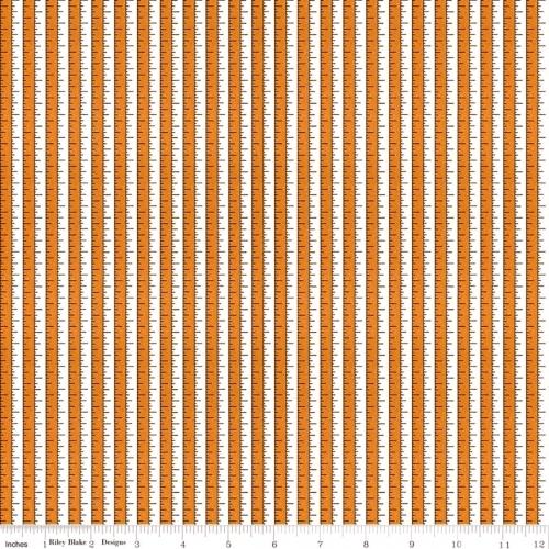 RILEY BLAKE - Costume Maker's Ball - Measuring Tape Orange