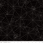RILEY BLAKE - Costume Maker's Ball - Spiderwebs Black