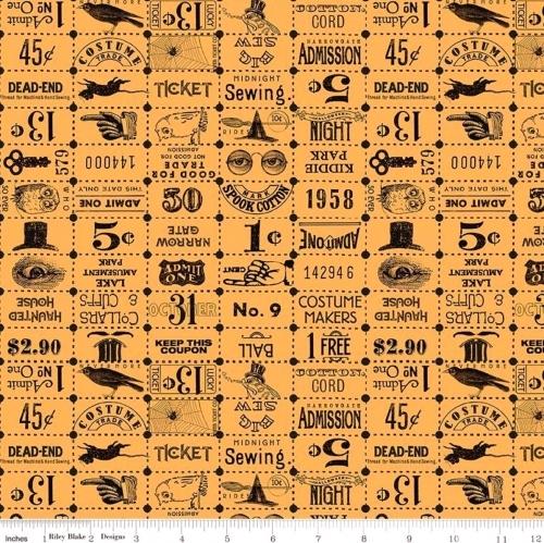 RILEY BLAKE - Costume Maker's Ball - Tickets Orange