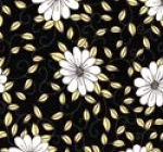 RILEY BLAKE - PENNY ROSE FABRICS - Jill Finley - Honey Run - Main - Black - #2538-