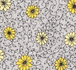 RILEY BLAKE - PENNY ROSE FABRICS - Jill Finley - Honey Run - Vine - Gray - #2536-