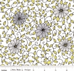 RILEY BLAKE - PENNY ROSE FABRICS - Jill Finley - Honey Run - Vine - White - #2537-