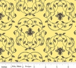 RILEY BLAKE - PENNY ROSE FABRICS - Jill Finley - Honey Run - Queen - Yellow - #2539-