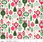 RILEY BLAKE - Merry and Bright - Ornaments - Cream