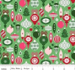 RILEY BLAKE - Merry and Bright - Ornaments - Light Green