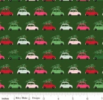 RILEY BLAKE - Merry and Bright - Cars - Green