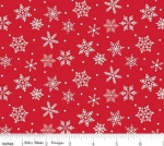 RILEY BLAKE - Merry and Bright - Merry Snowflakes - Red