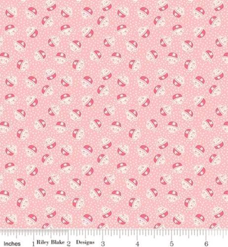RILEY BLAKE - PENNY ROSE STUDIO - Storytime 30s - Kitties - Pink