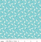 RILEY BLAKE - PENNY ROSE STUDIO - Storytime 30s - Kitties - Teal