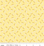 RILEY BLAKE - PENNY ROSE STUDIO - Storytime 30s - Kitties - Yellow