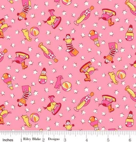 RILEY BLAKE - PENNY ROSE STUDIO - Storytime 30s - Toys - Pink