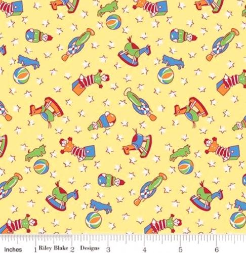 RILEY BLAKE - PENNY ROSE STUDIO - Storytime 30s - Toys - Yellow