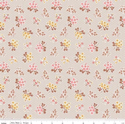 RILEY BLAKE - Granny Chic - Bouquet Brown