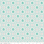 RILEY BLAKE - Granny Chic - Wallpaper Blue