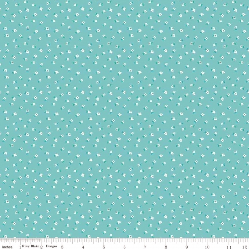 RILEY BLAKE - Granny Chic - Blossom Blue