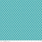 RILEY BLAKE - Granny Chic - Needlepoint Blue