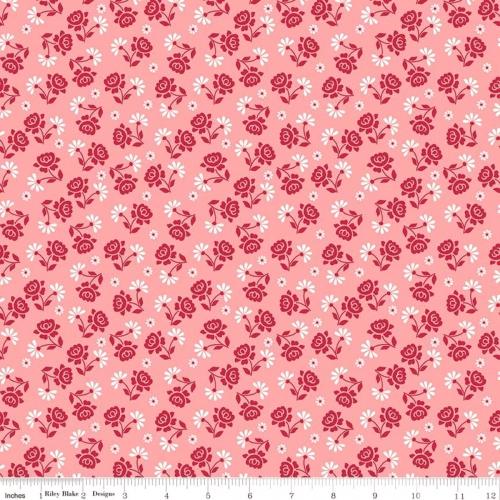 RILEY BLAKE - Granny Chic - Roses Pink