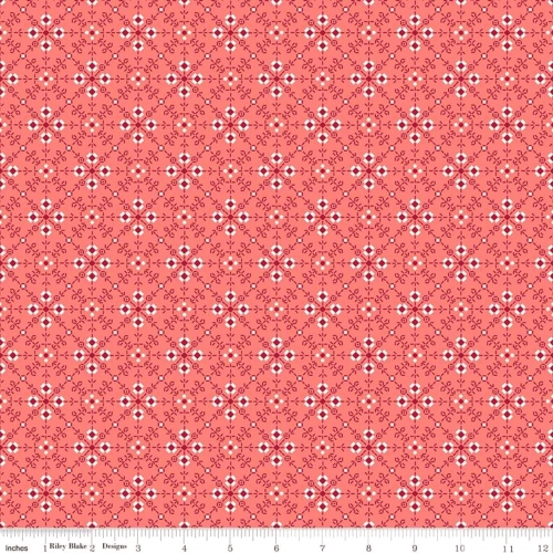 RILEY BLAKE - Granny Chic - Stitches Pink