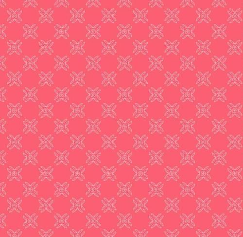 RILEY BLAKE - Flutter And Shine - Trellis - Dark Pink - #3115-