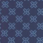RILEY BLAKE - Flutter And Shine - Trellis - Navy