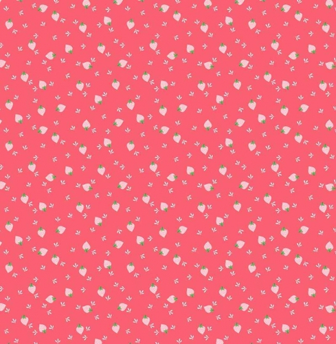 RILEY BLAKE - Flutter And Shine - Berries - Dark Pink