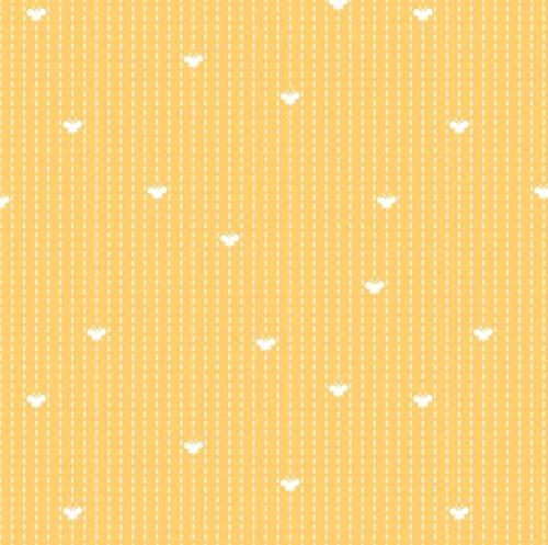 RILEY BLAKE - Flutter And Shine - Flight Path - Yellow - #3120-