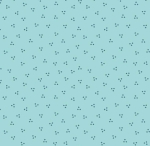 RILEY BLAKE - Flutter And Shine - Ditsy Dots - Aqua - #3121-