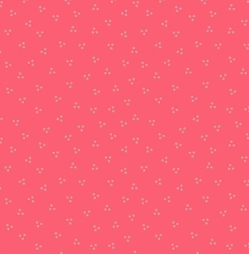 RILEY BLAKE - Flutter And Shine - Ditsy Dots - Dark Pink - #3122-
