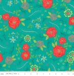 RILEY BLAKE - Wildflower Boutique - Main - Teal