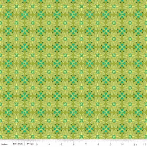 RILEY BLAKE - Wildflower Boutique - Mosaic - Green