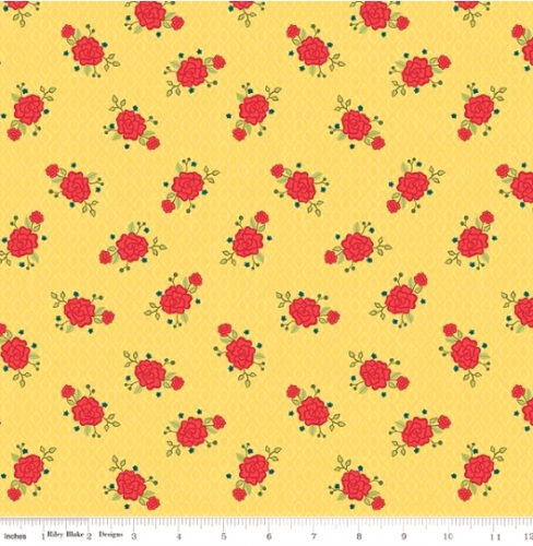 RILEY BLAKE - Wildflower Boutique - Floral - Yellow