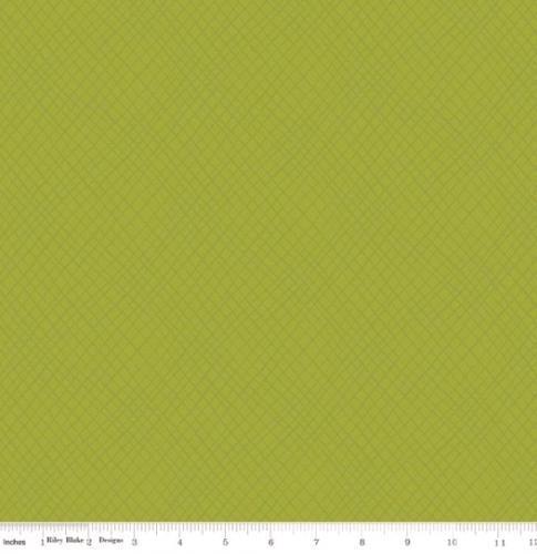 RILEY BLAKE - Wildflower Boutique - Plaid - Green