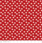 RILEY BLAKE - Couturiere Parisienne - Petite Point De Fleur Dot Red