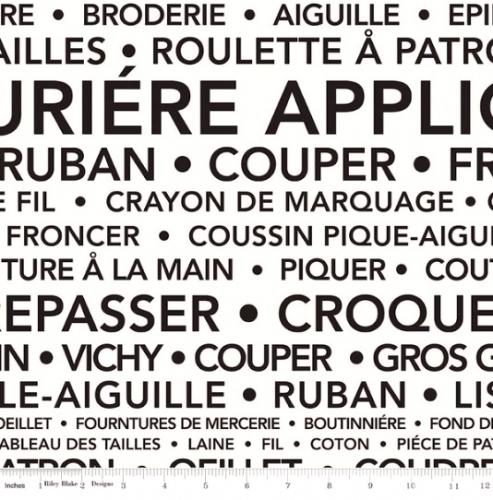 RILEY BLAKE - Couturiere Parisienne - French Cream