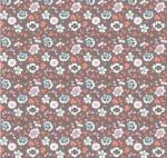 RILEY BLAKE - Paper Daisies - Floral Gray
