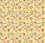 RILEY BLAKE - Paper Daisies - Floral Yellow