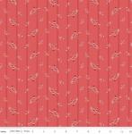 RILEY BLAKE - Red Elegance - Wallpaper Berry