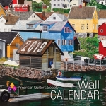 2019 AQS Wall Calendar by American Quilters Society
