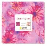 Benartex - Color Calypso Berry 10x10 Pack