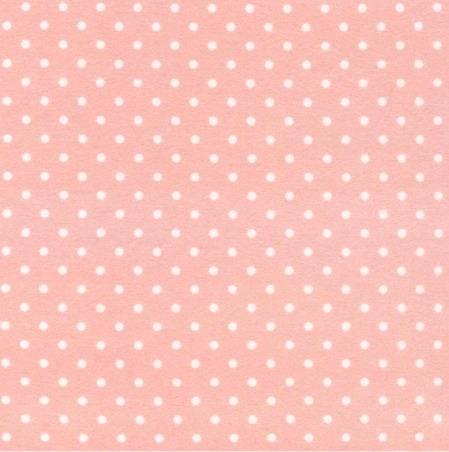 TIMELESS TREASURES - Dot - FLANNEL - Pink