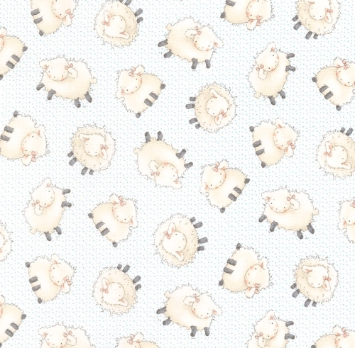 TIMELESS TREASURES - Bunnies - FLANNEL - Sheep
