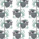 BIRCH FABRICS - Best of Charley Harper - Koala Koala